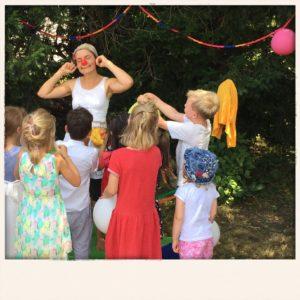 Clownerie für Kinder Sommerfest