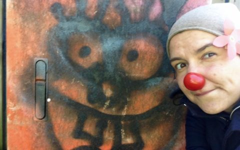 Clown meets Graffiti